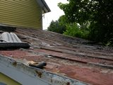 Metal Roof - Before